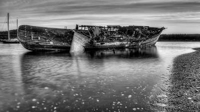 Abandoned in Black & White