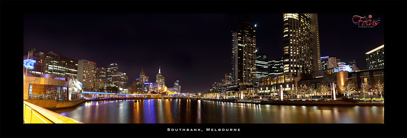 Melbourne Southbank 2012 just after the earth tremour.