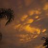 Mammatus Clouds, Tropical Storm