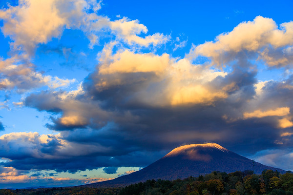 Flying clouds, Mt.Yotei