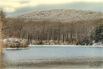 snow capped Mt.