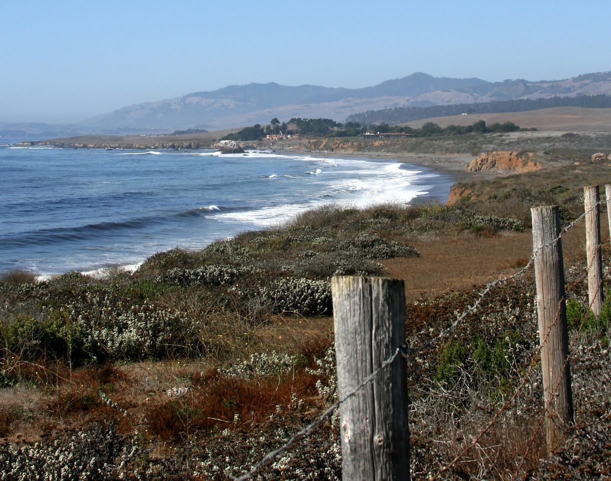 San Simeon Shoreline  California