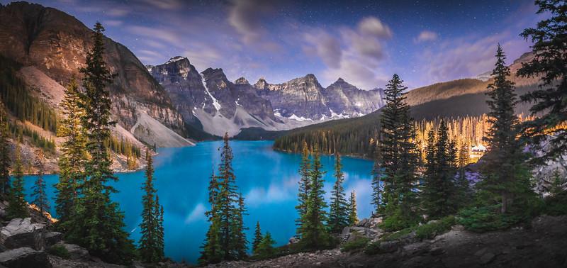 Moraine Lake, Alberta, Canda