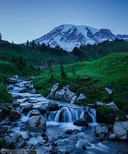 Edith Creek Twilight