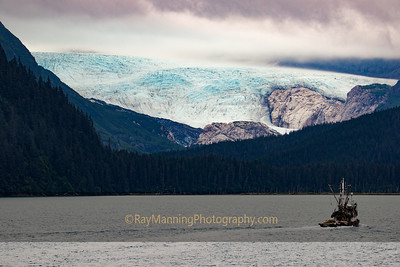 Billings Glacier Looms over the Prince William Sound