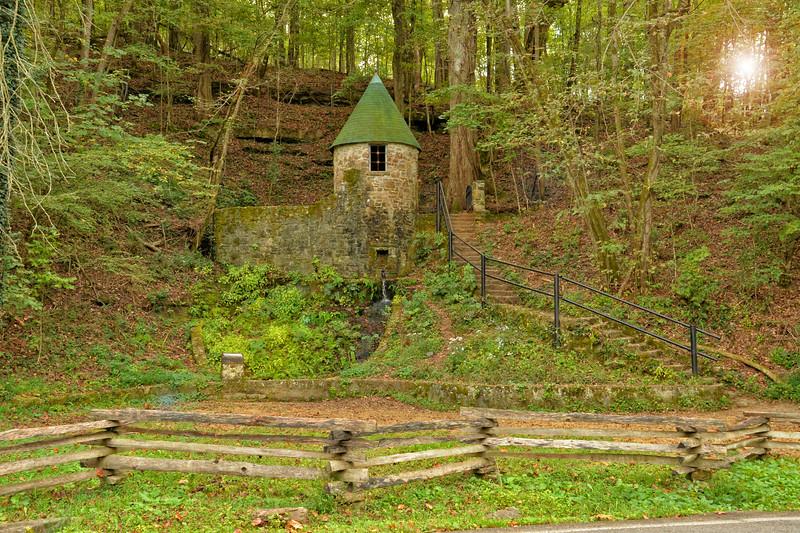 Spring Castle - Rock Island State Park, TN