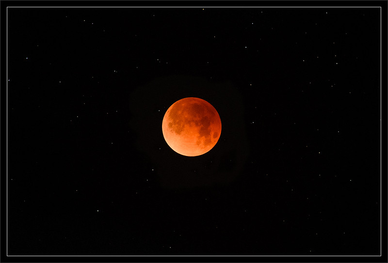 Total Lunar Eclipse & Stars: 2018