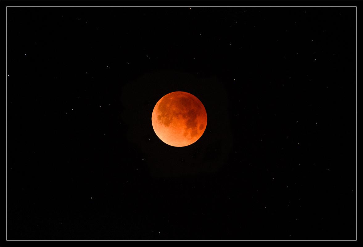 Total Lunar Eclipse & Stars: 2018