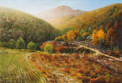 Autumn of Yangsoori River