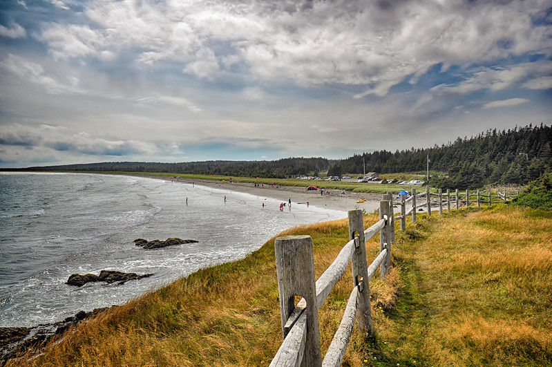 Point Michaud Beach, Cape Breton, Nova Scotia