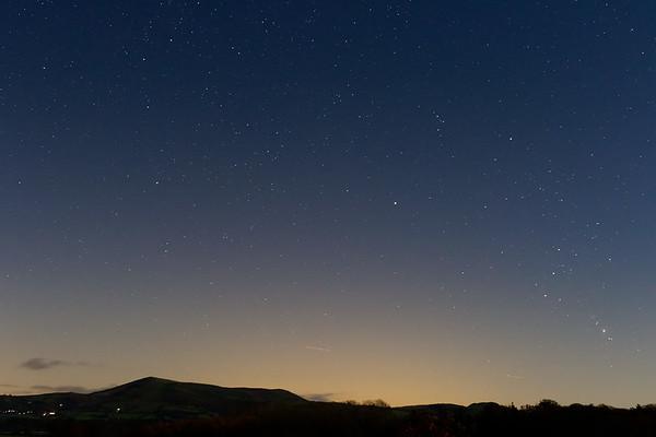 Corndon Hill Starscape