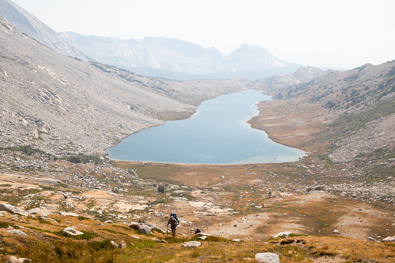 Hiking above Roosevelt Lake (September 2020)