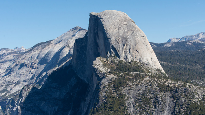 Half Dome, from Glacier Point
