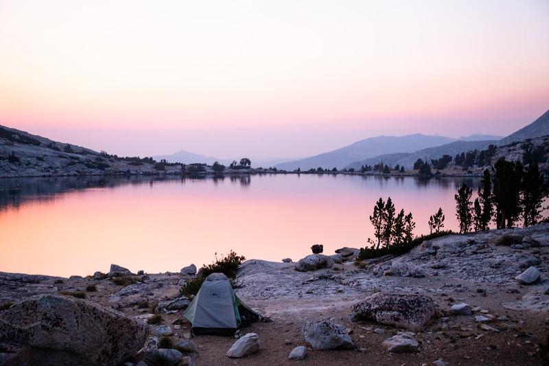 Upper McCabe Lake (September 2020)