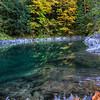 Fall reflections at Marie Canyon