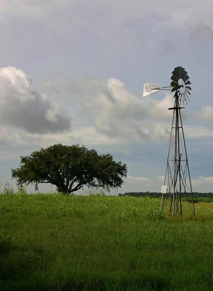 Windmill Near George Ranch Richmond TX