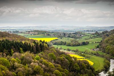 Goodrich Village in Herefordshire