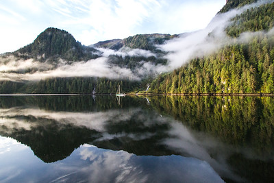 Calm Morning in Khutze Inlet