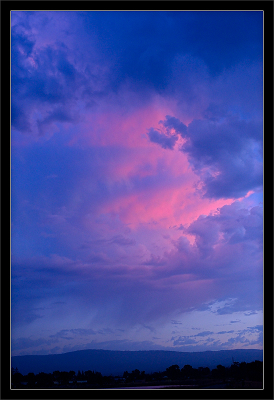 Pink Clouds After Sunset