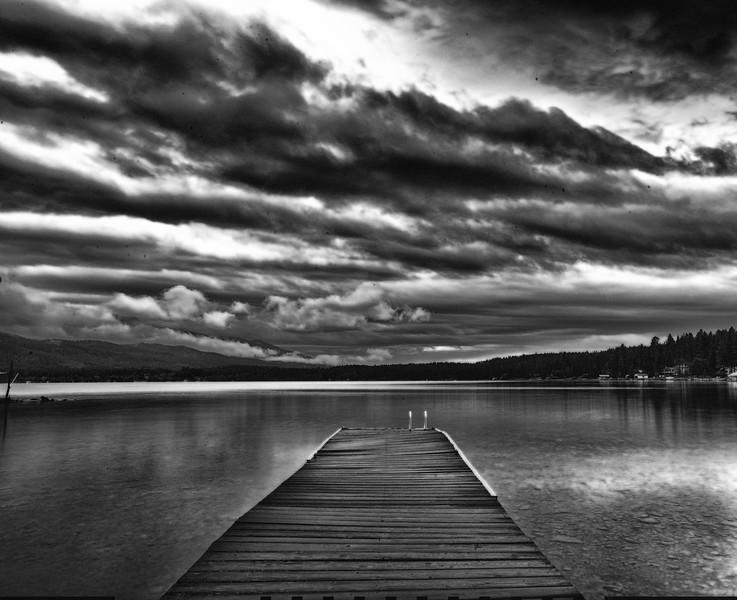 Moonlight On Flathead Lake