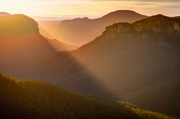 Govett's Leap, Blue Mountains National Park, New South Wales, Australia