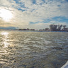 Ice Flow, Madison River, MT