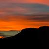 Sunset Colours over Mt Prevost