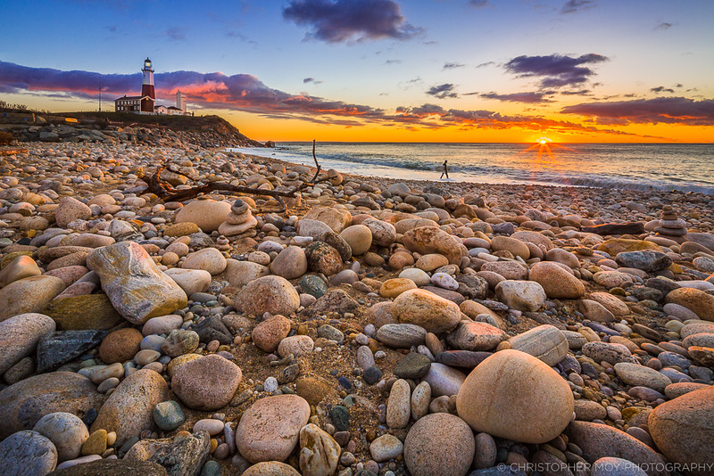 Sunrise at Montauk Point State Park