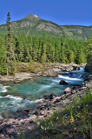 McDonald Creek in Summer