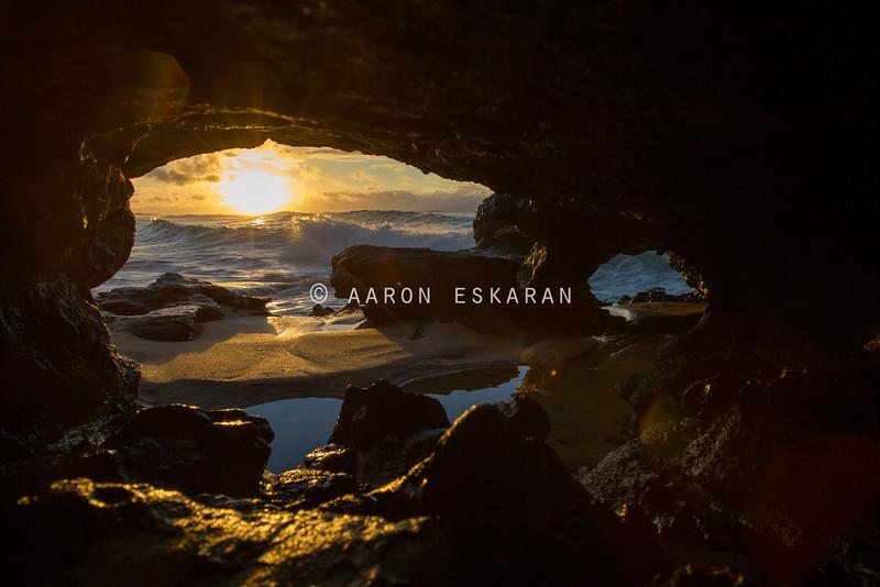 Secret Cave Sunrise
