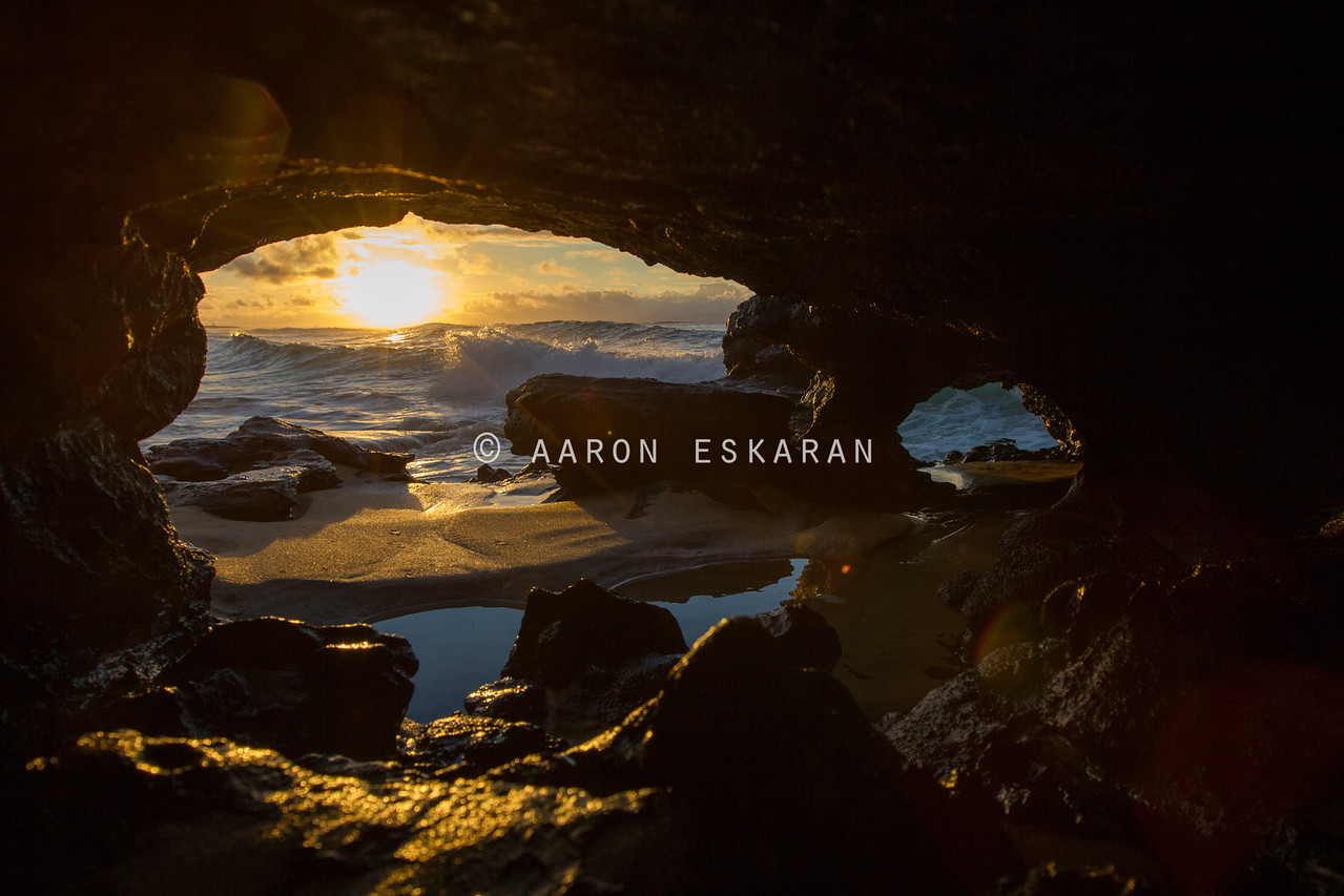 Secret Cave Sunrise
