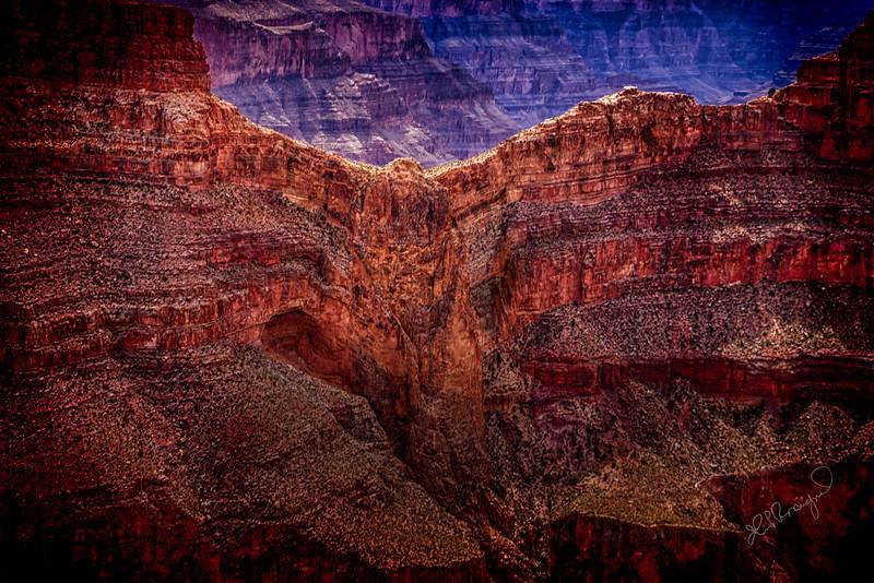 Eagle Rock Grand Canyon