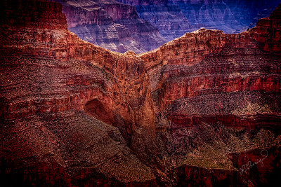 Eagle Rock Grand Canyon