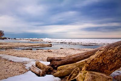 Winter Beach - Lake Ontario