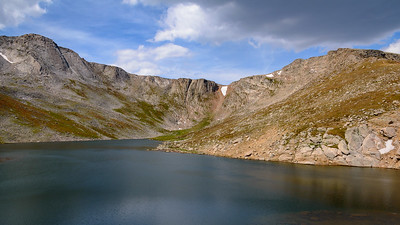 Profile Lake and the Rocky Ridge at Mount Evans