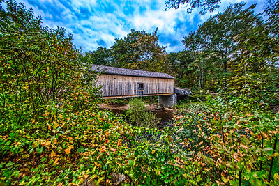 Comstock Bridge.   Colchester / East Hampton CT