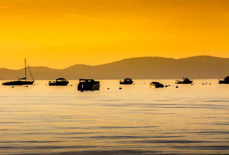 Sunset Glow - Lake Tahoe