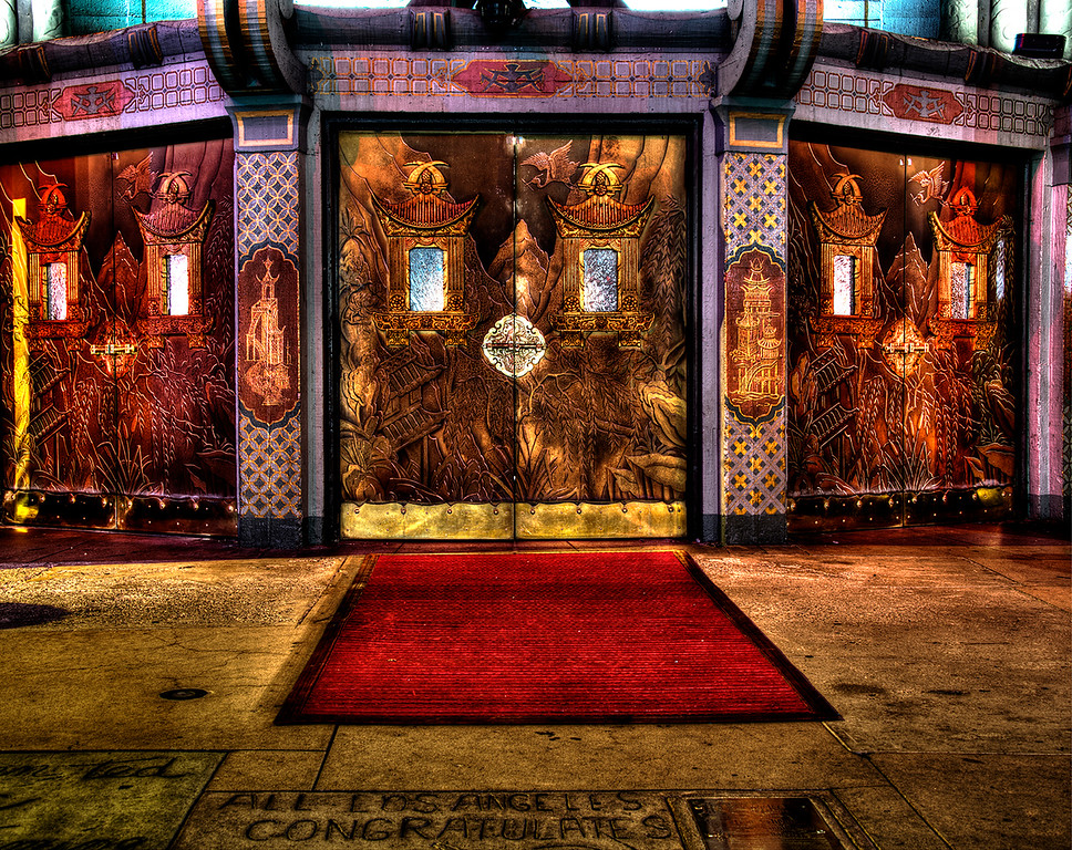 Entrance Doors Grauman's Chinese Theatre