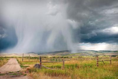 A Stormy Day on the Ranch Limited Edition by Kat Walsh Photography