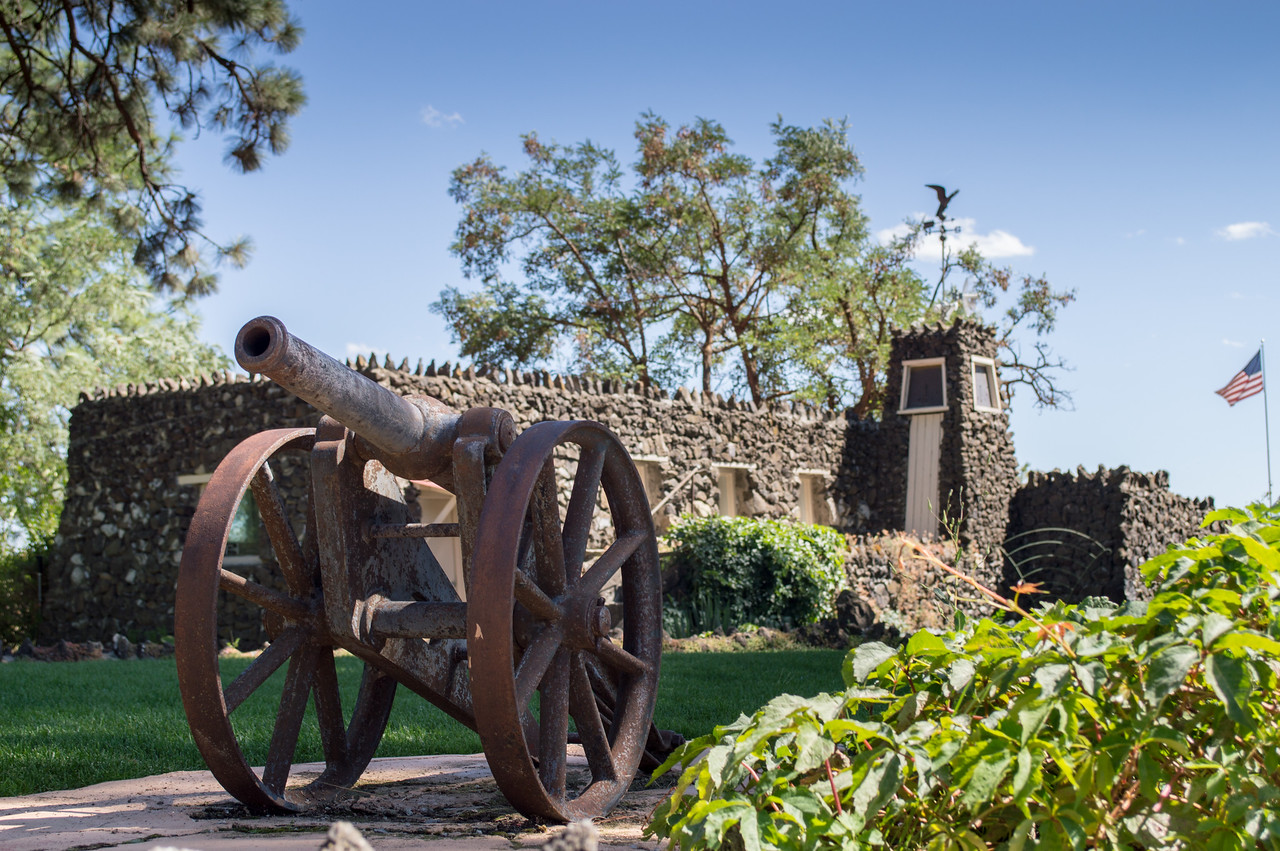 Cannon at Arbor Crest Wine Cellars