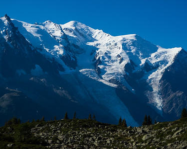 Mont Blanc. Chamonix, France.