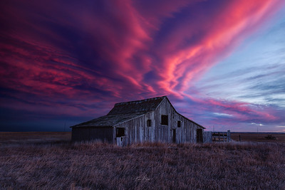 An Abandoned Sunset.