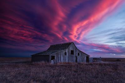 An Abandoned Sunset.
