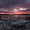 Sunset at  Brenton Point State Park !