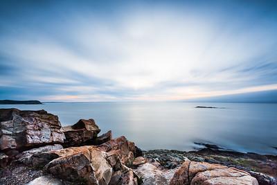Morning on the Acadia Coast