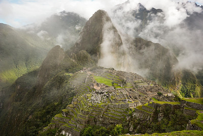 Good Morning Machu Picchu