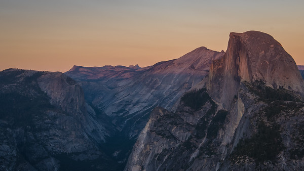 Yosemite Valley at Sunset