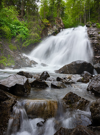 South Fork Falls, Eagle River, Alaska
