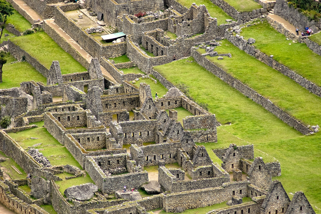 Machu Picchu Buildings