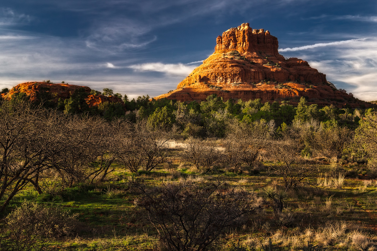 Bell Rock at Sunset, Sedona, Arizona